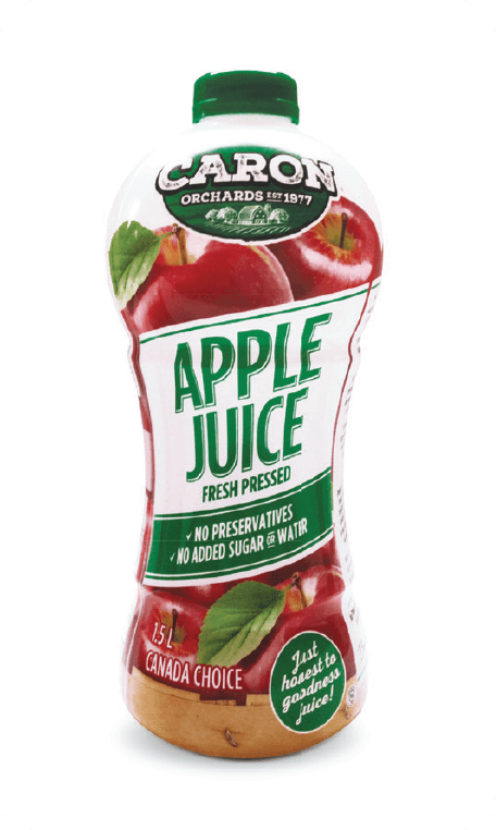 Apple juice Caron Orchard's